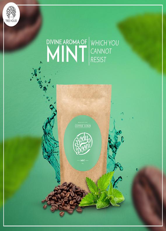 Tree House Coffee Scrub (Mint)