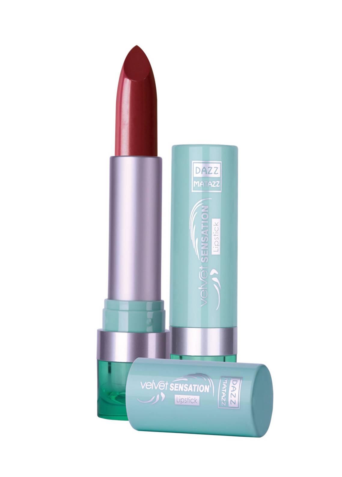 Dazz Matazz Velvet Sensation Lipstick-06 ENGLISH TOFFEE