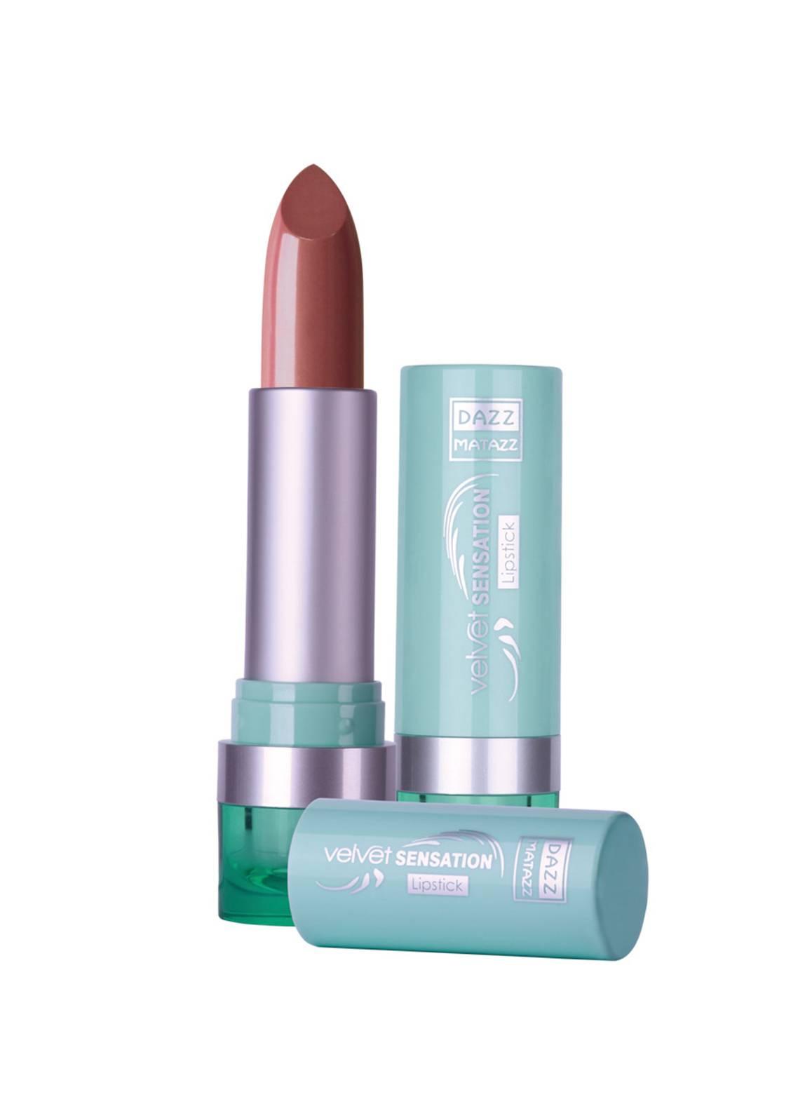 Dazz Matazz Velvet Sensation Lipstick-15 ROASTED ALMOND