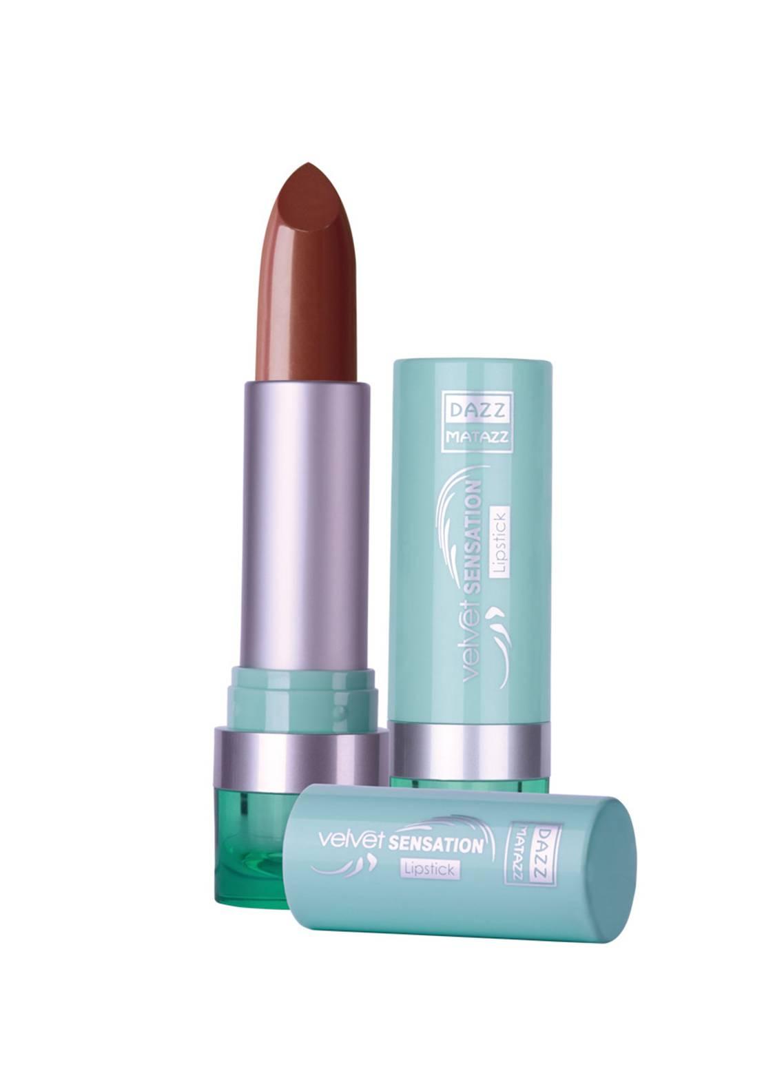 Dazz Matazz Velvet Sensation Lipstick-18 CHOCOLATE FUDGE