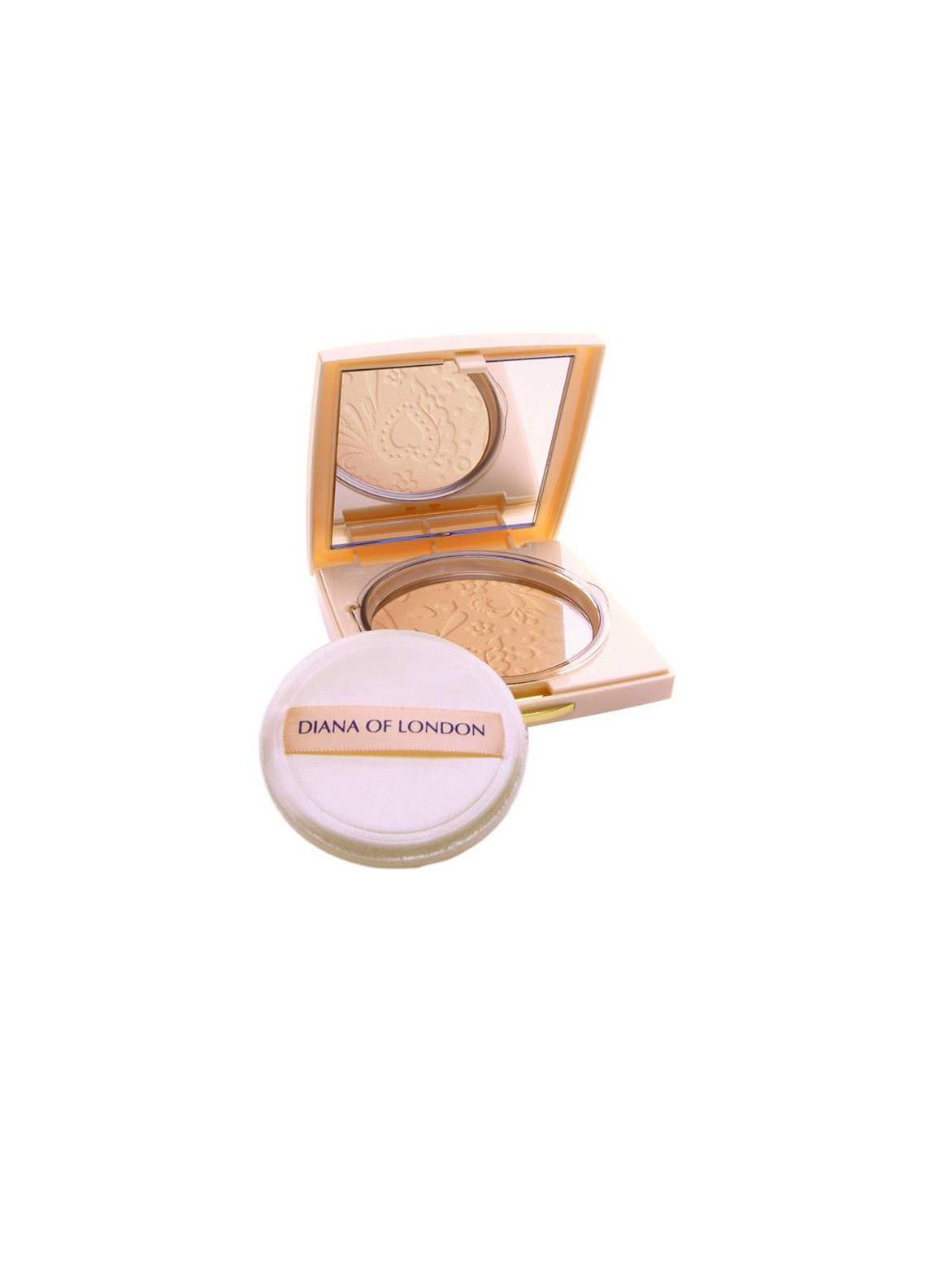Diana Of London Absolute Compact Powder - Fresh Coral-402