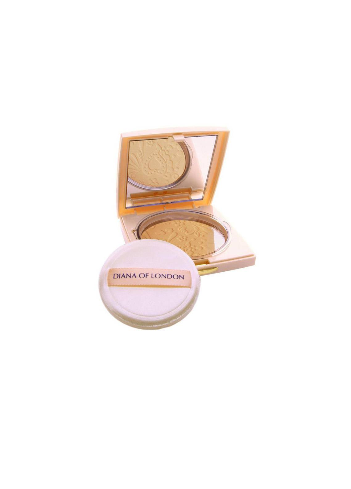 Diana Of London Absolute Compact Powder - Natural Almond-406