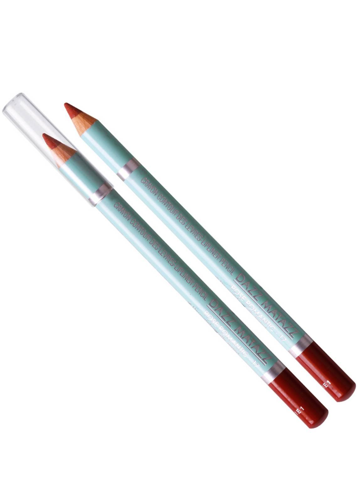 Dazz Matazz Lip Liner Pencil-17 ROSE ROMANTIC