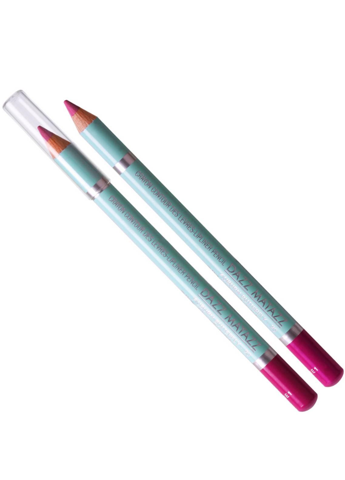 Dazz Matazz Lip Liner Pencil-20 AUBURN BUTTEFLY