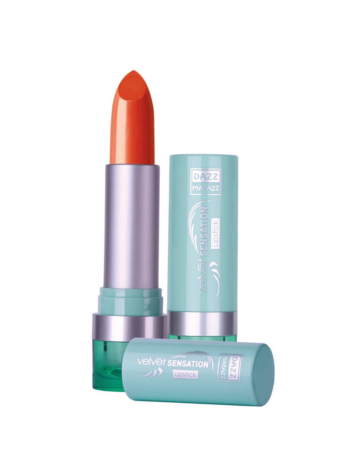 Dazz Matazz Velvet Sensation Lipstick-22 ORANGE JELLO