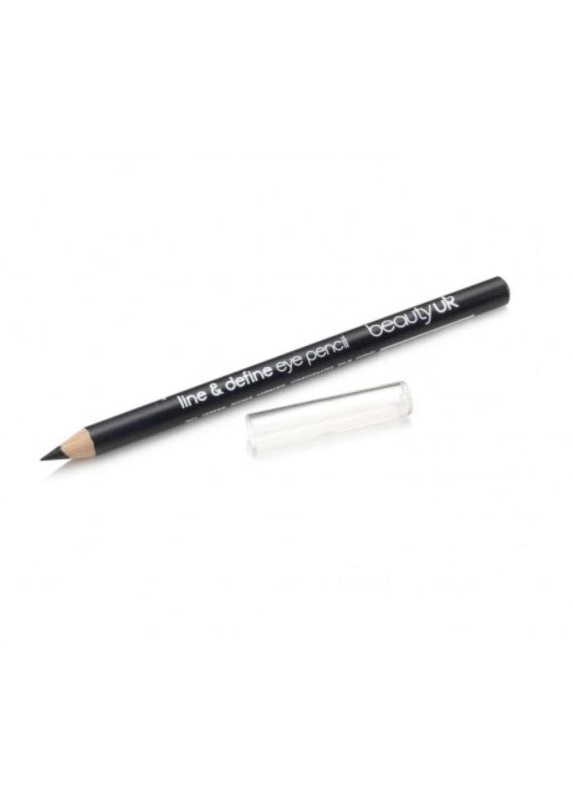 Beauty UK Line & Define Eye Pencil - 1 Black