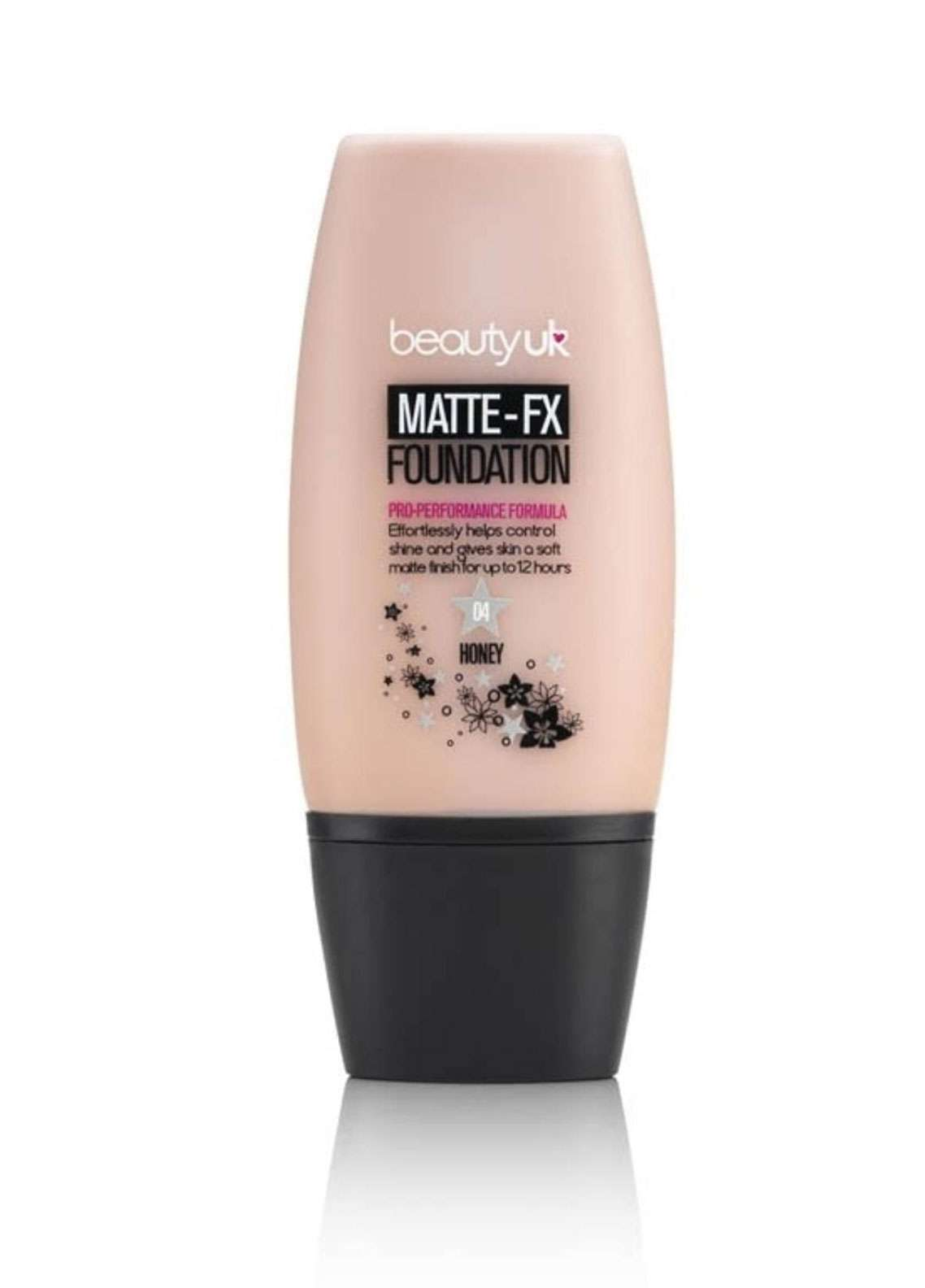 Beauty UK Matte FX Foundation - 4 Honey