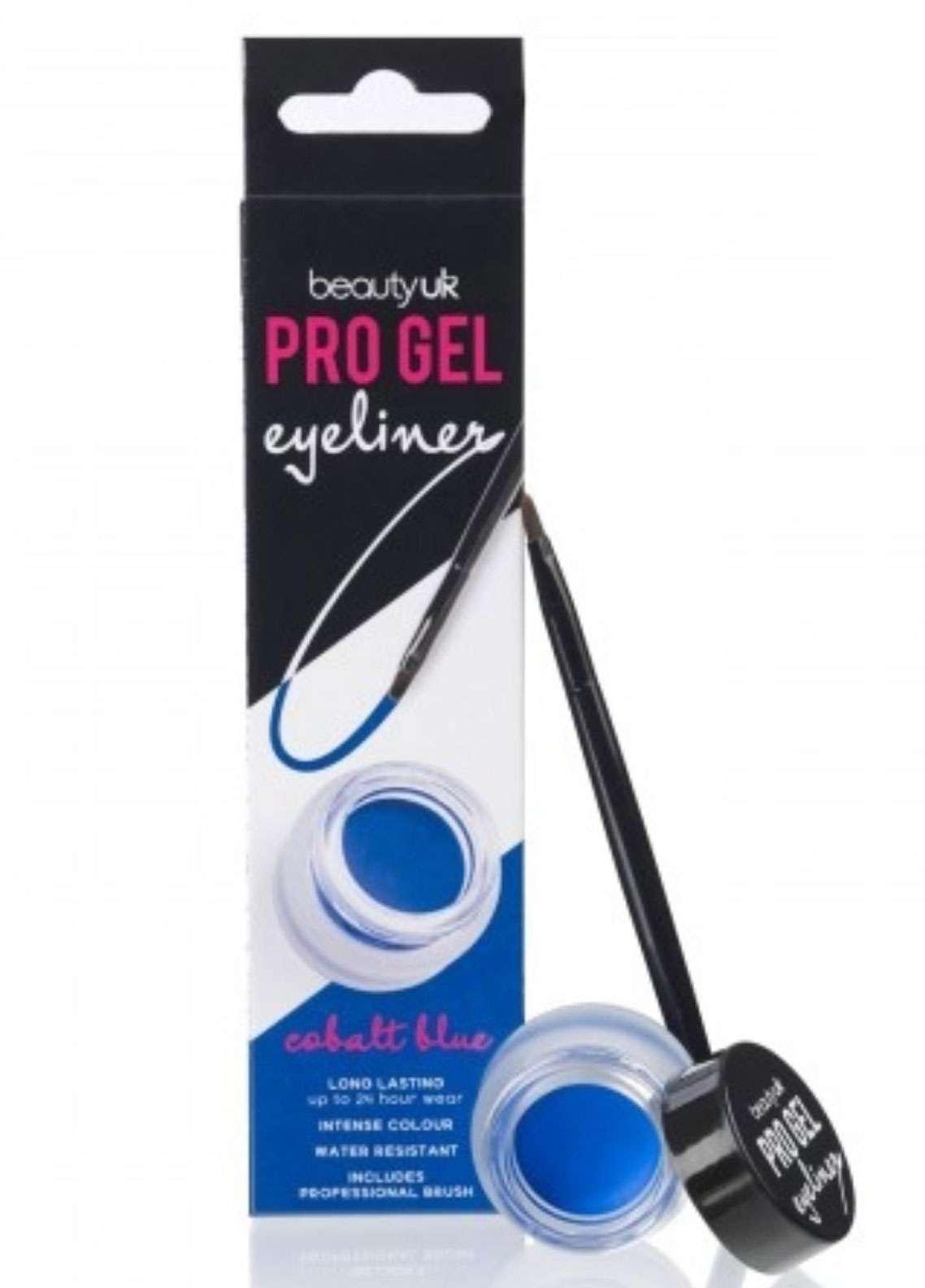 Beauty UK Pro Gel Eyeliner - 3 Cobalt Blue