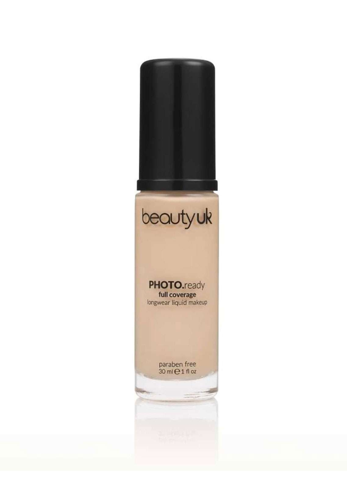 Beauty UK Photo Ready Foundation - 1 Porcelain