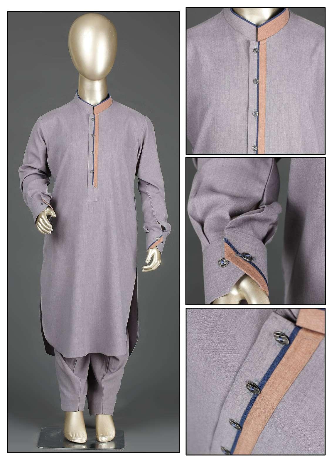 Aizaz Zafar Wash N Wear Formal Boys Kameez Shalwar - AZ19B 222 Move
