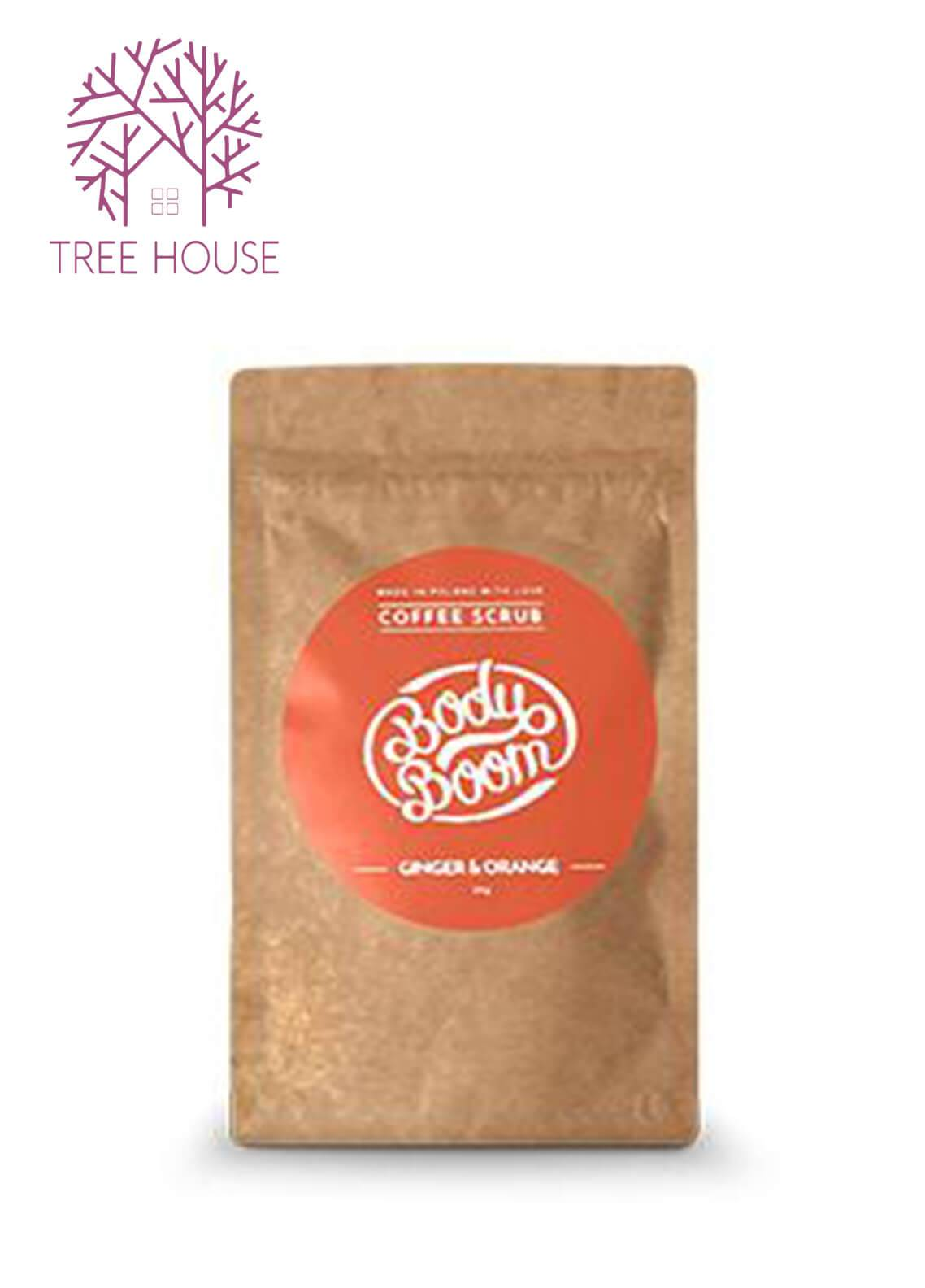 Body Boom Coffee Scrub (Ginger Orange)