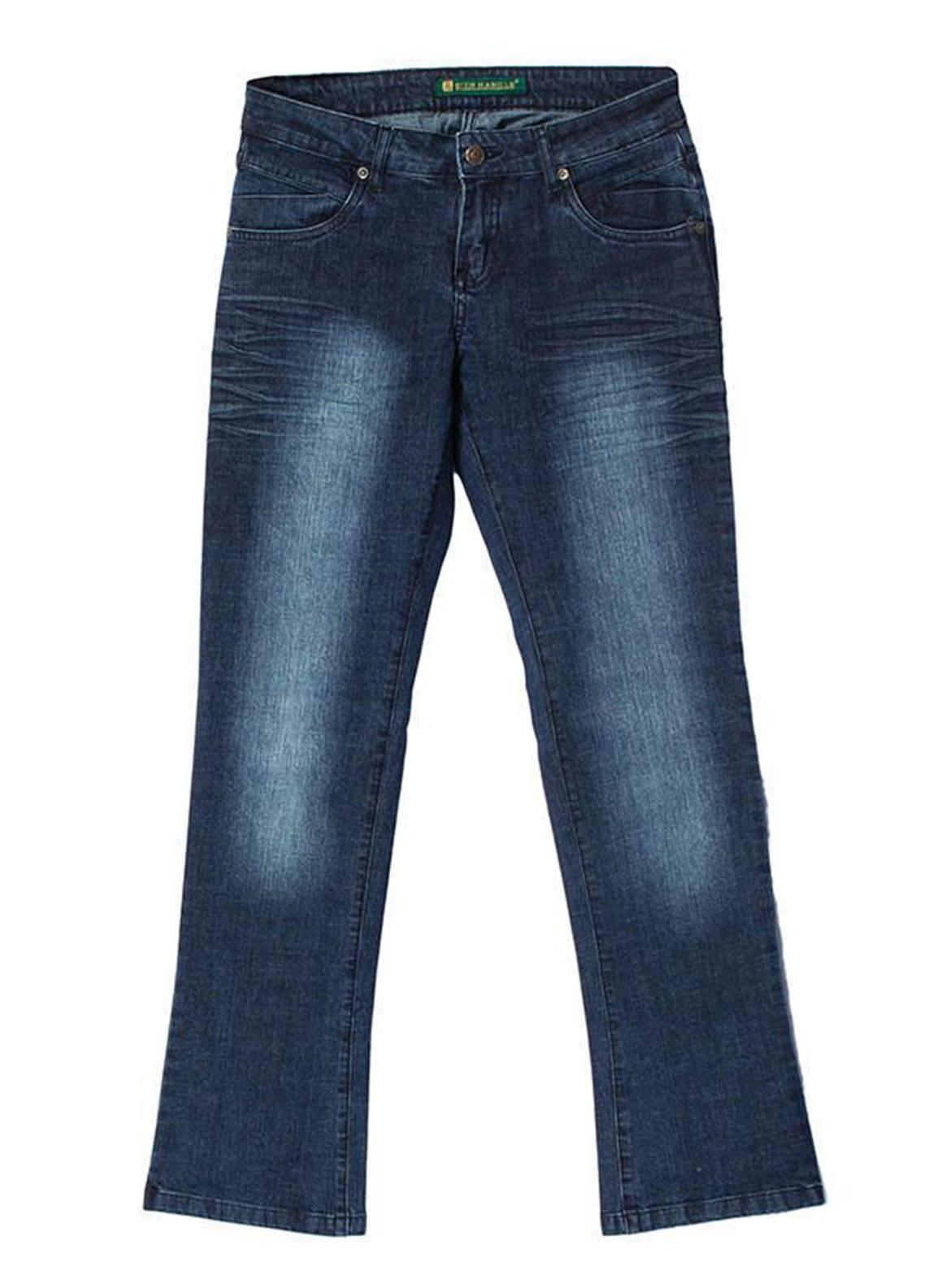 Bien Habille Jeans Casual Fit Blue Sun Blast