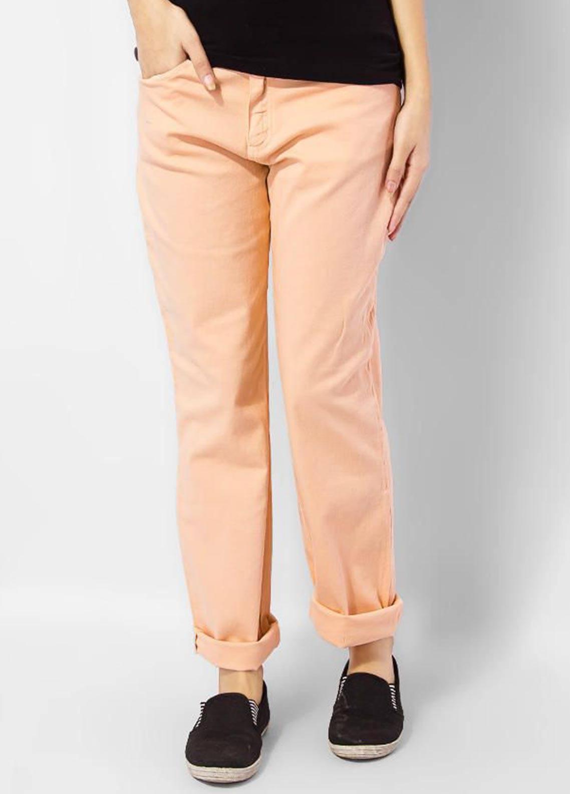 Bien Habille Jeans Casual Fit Peach
