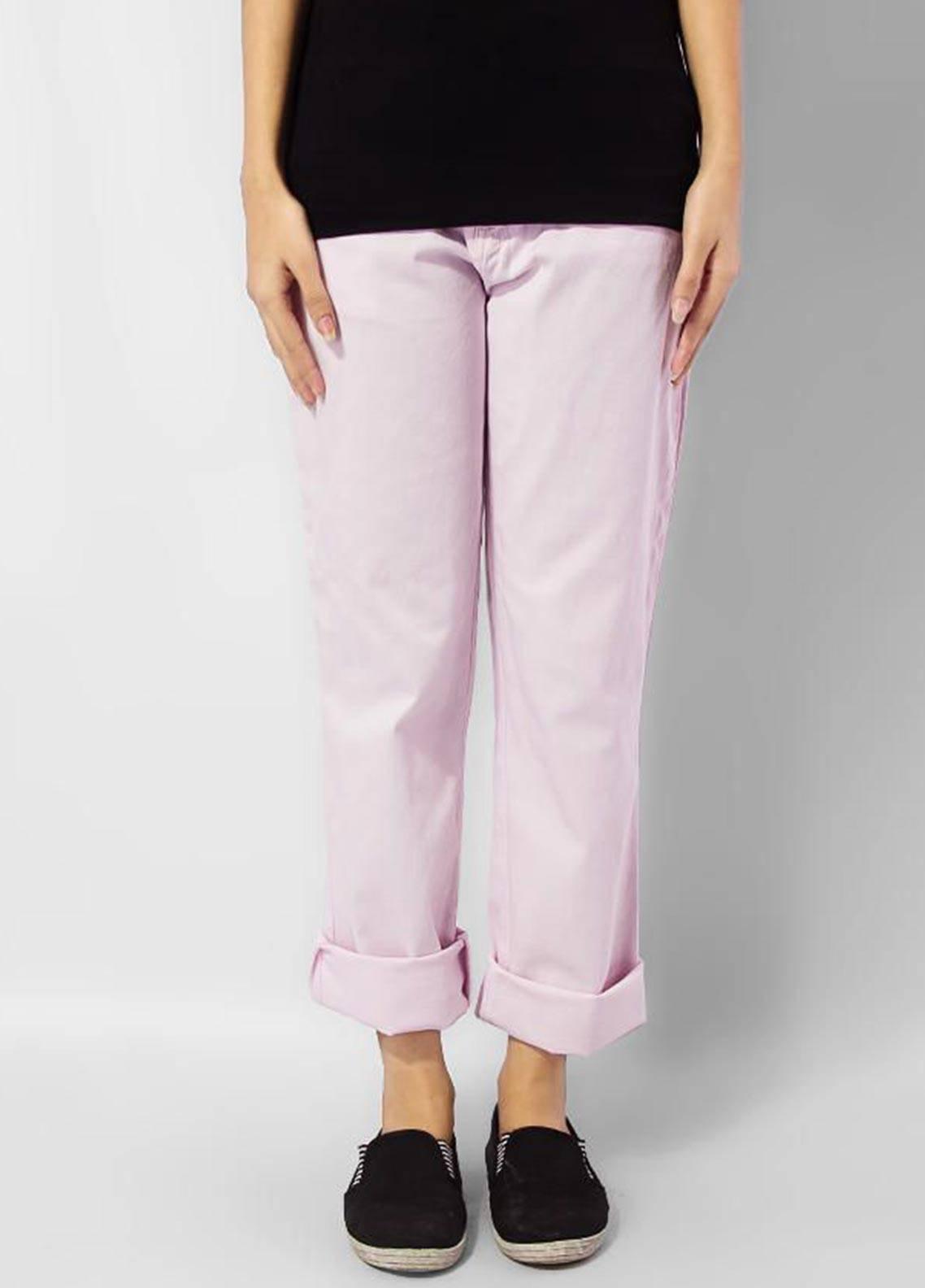 Bien Habille Jeans Casual Fit Pink