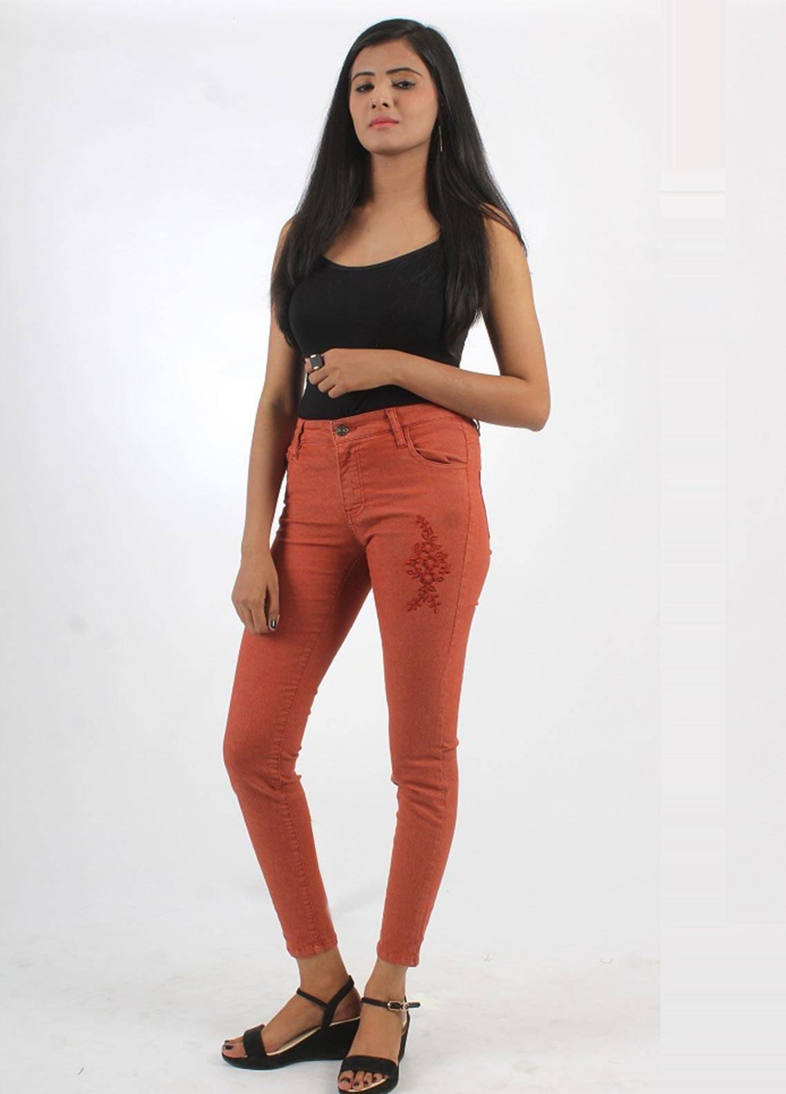 Bien Habille Jeans Skinny Fit Dark Brown