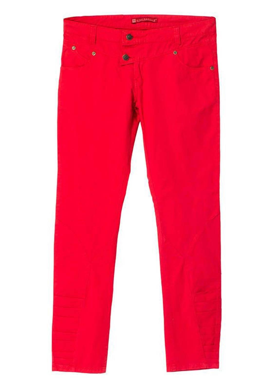 Bien Habille Trouser Modern Fit Red
