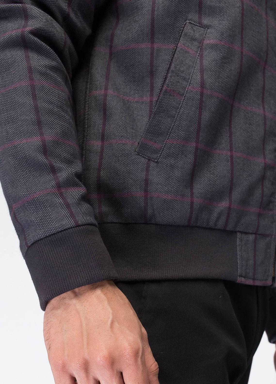 Brumano Cotton Full Sleeves Men Jackets - Grey BRM-11-0689