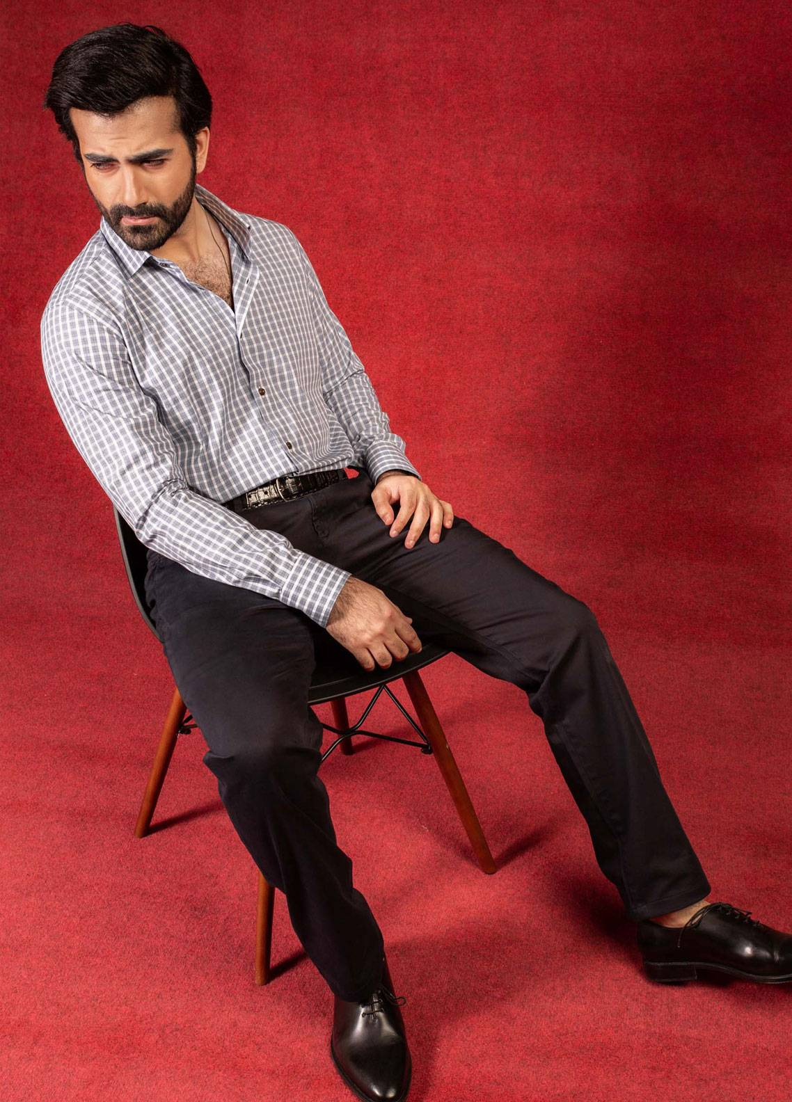 Brumano Cotton Formal Men Pants -  BRM-008 Black