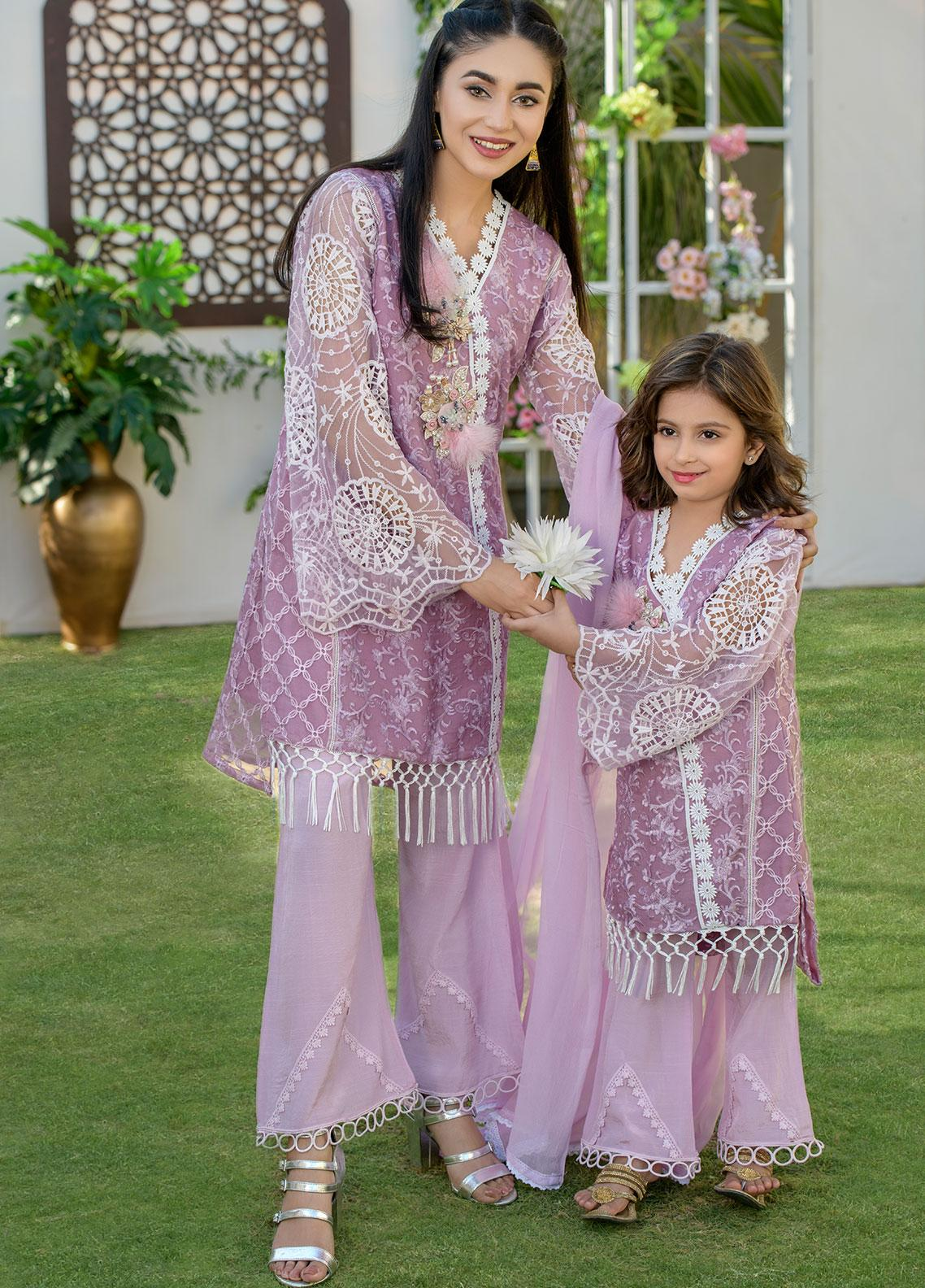 Chic Ophicial Organza Formal 2 Piece Suit for Girls -  CH04 Jazmine
