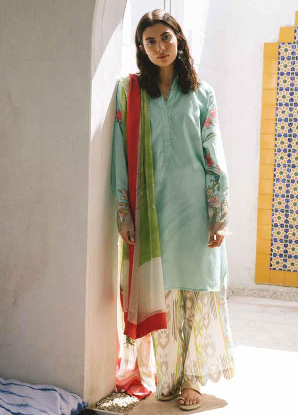 half off sale best shoes Coco by Zara Shahjahan Embroidered Lawn Unstitched 3 Piece Suit ...