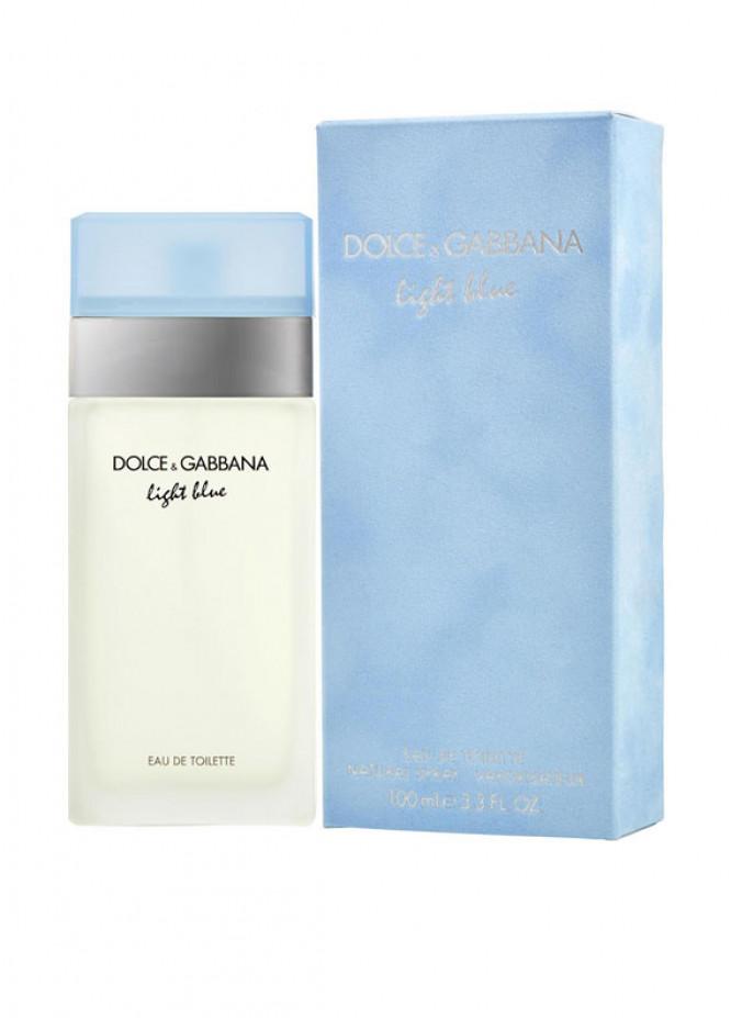 D&G Light Blue Women's perfume EDT