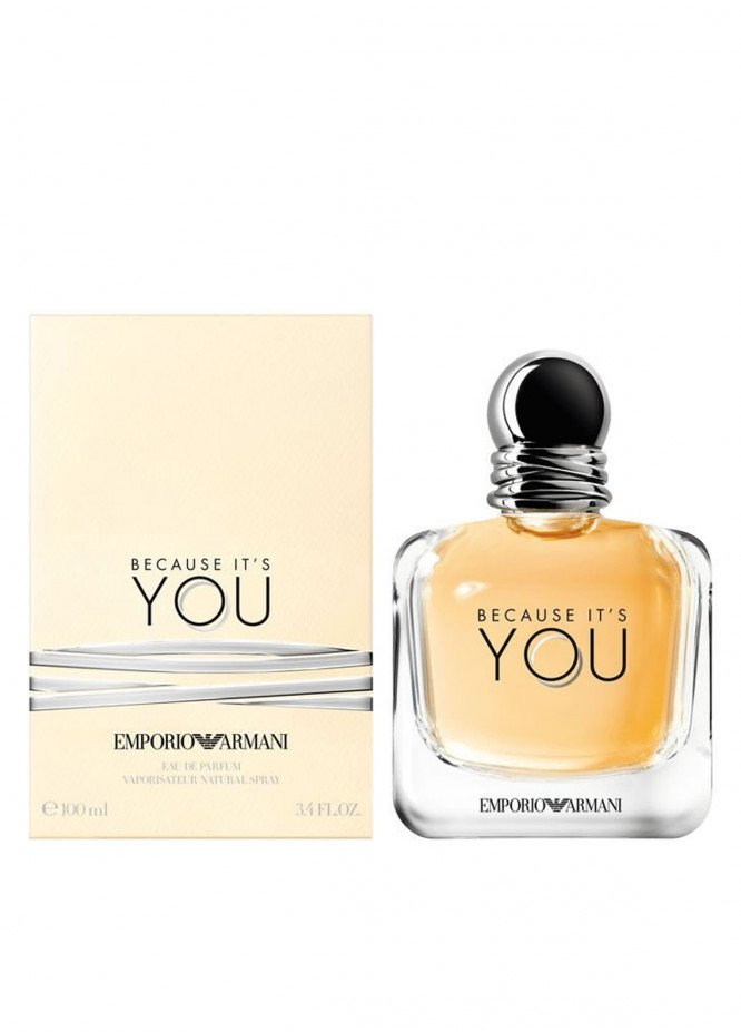 Armani Because It's YOU men's perfume EDP
