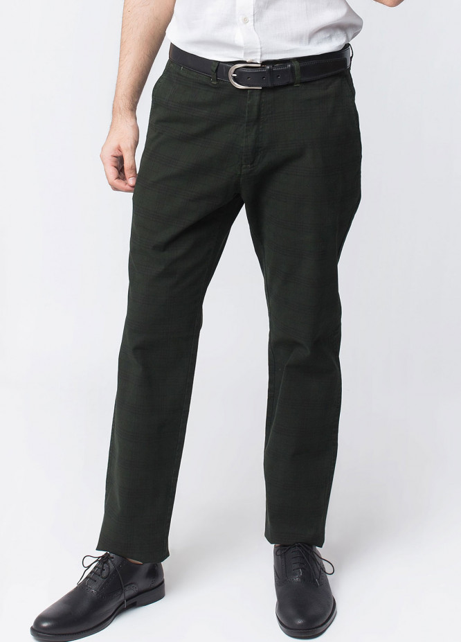 Brumano Cotton Formal Men Trousers -  BRM-50-007-Green