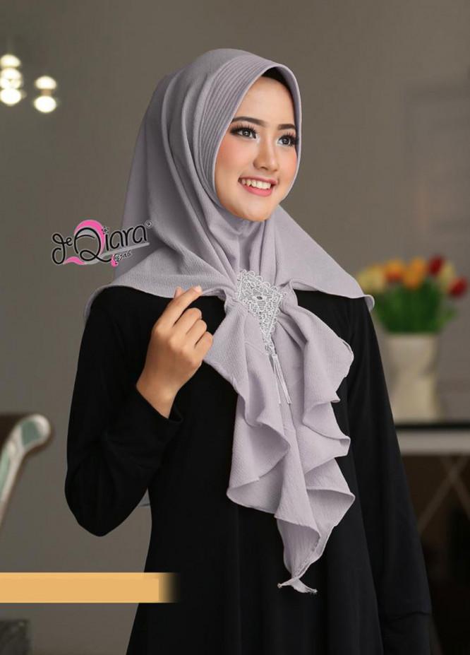 DeQiara  Bubble Pop  Ladies Scarves HH DeQiara Medina 02 Grey