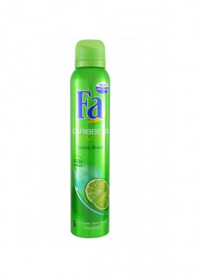 FA Fa Caribbean Lemon women's body spray