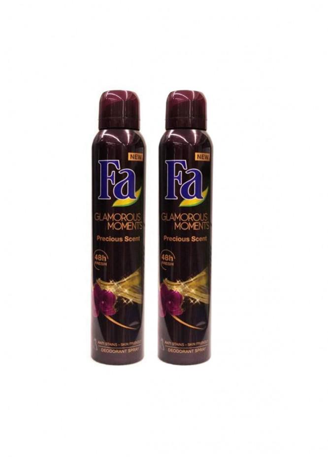 FA Fa Glamorous Moments Pack of 2 women's body spray