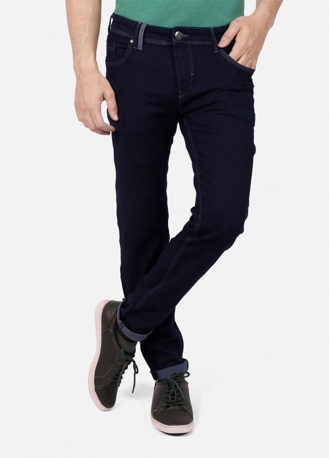 Furor Denim Casual Jeans for Men - Blue FRM18DP 001