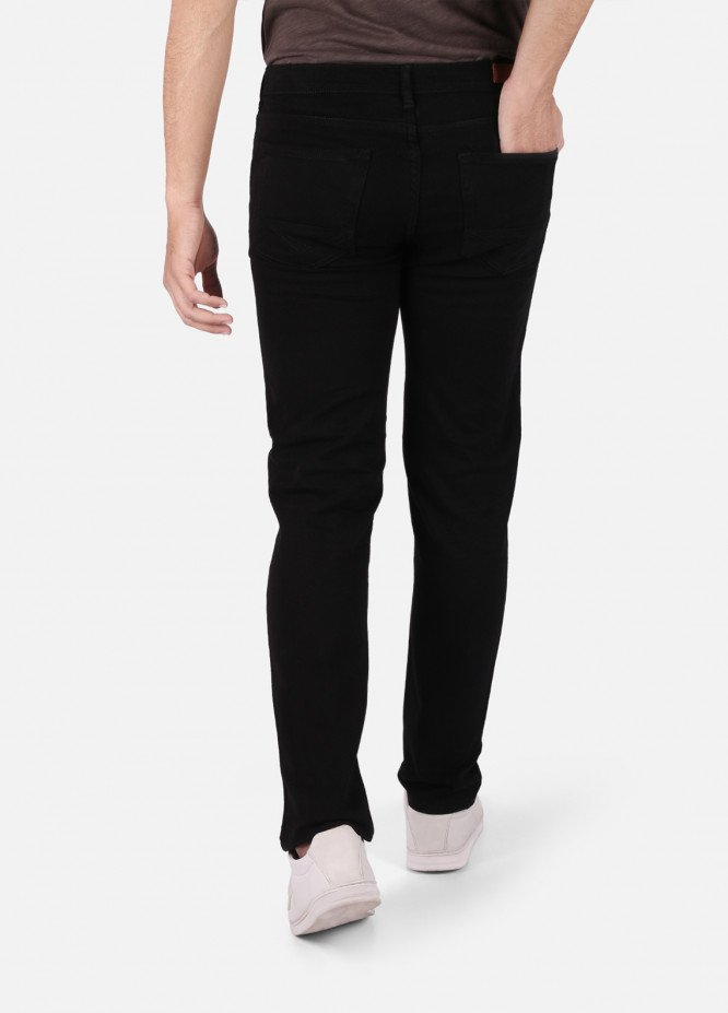 Furor Denim Casual Jeans for Men - Black FRM18DP 023