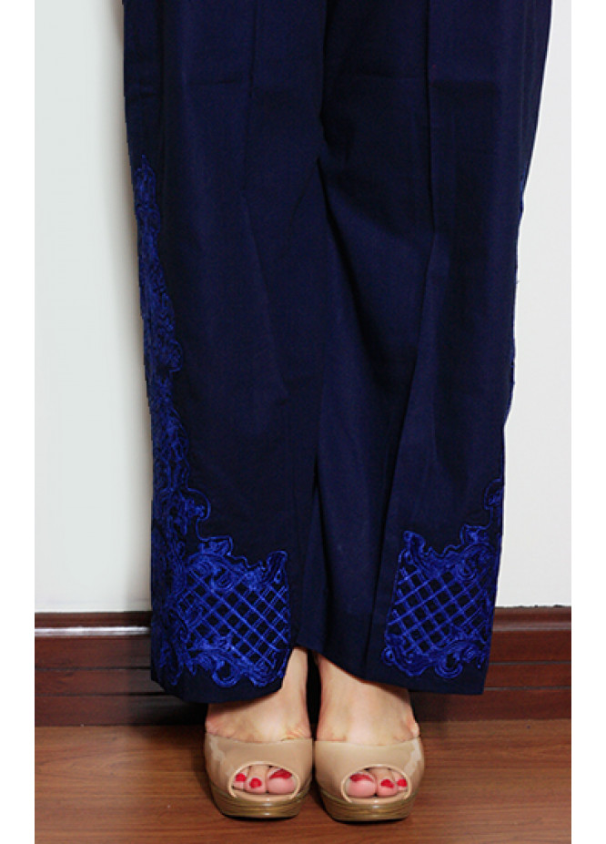 Gulaal Embroidered  Stitched Trouser GL16W GT03