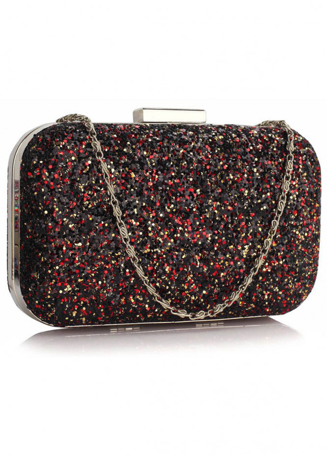 Leesun London   Clutch Bags  for Women  Multi with Fancy Style