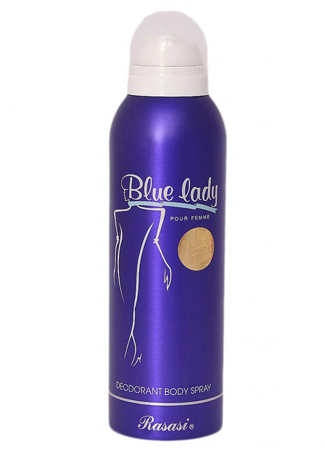 Rasasi Blue Lady Pour Femme women's body spray