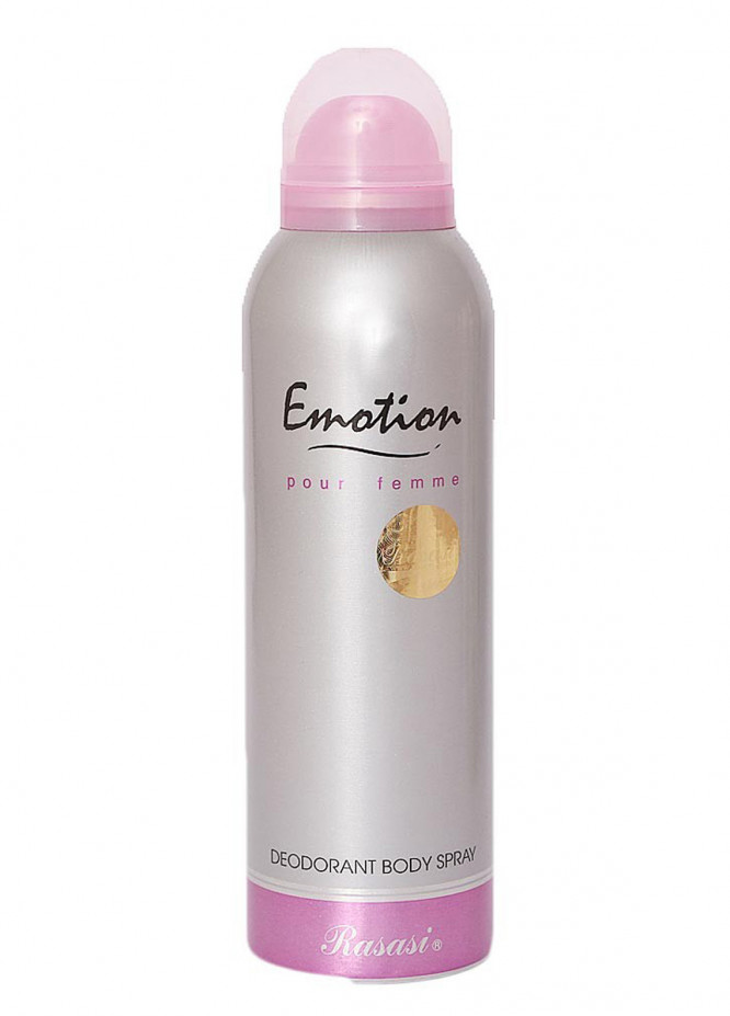 Rasasi Emotion Pour Femme women's body spray