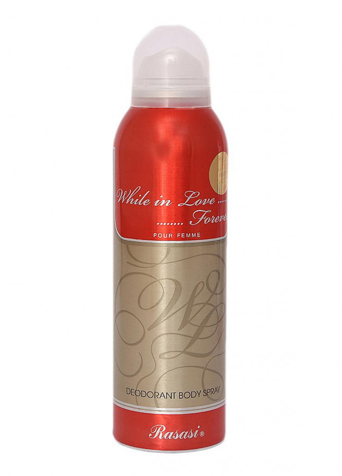 Rasasi While in Love Forever Pour Femme women's body spray