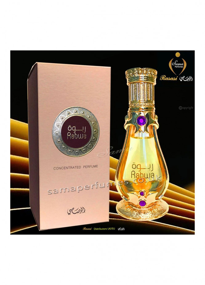 Rasasi RS-103 Rabwa Concentrated Oil Unisex Perfume for unisex