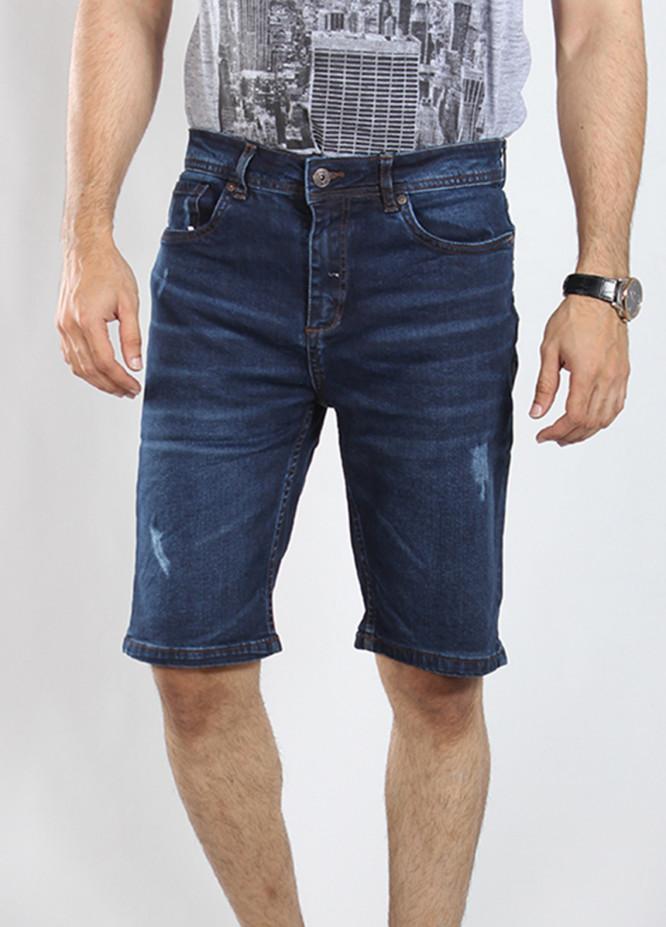 Red Tree Denim Casual Shorts for Men - Blue RTM18SHO 16