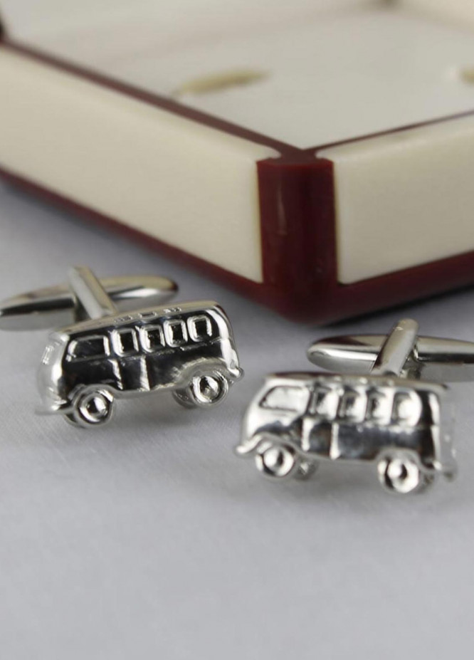 Shahzeb Saeed Fancy Steel  Cufflinks Van - Casual Accessories