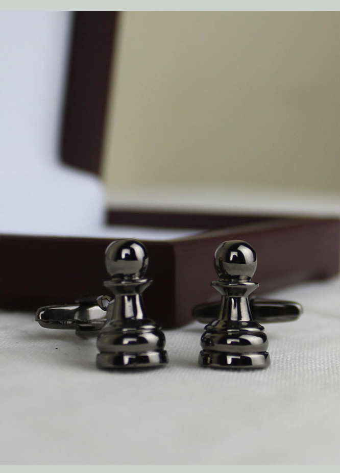 Shahzeb Saeed Fancy Steel  Cufflinks Wazeer - Casual Accessories