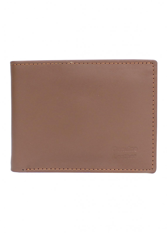 Shahzeb Saeed Plain Texture Leather  Wallet W-057 - Men's Accessories