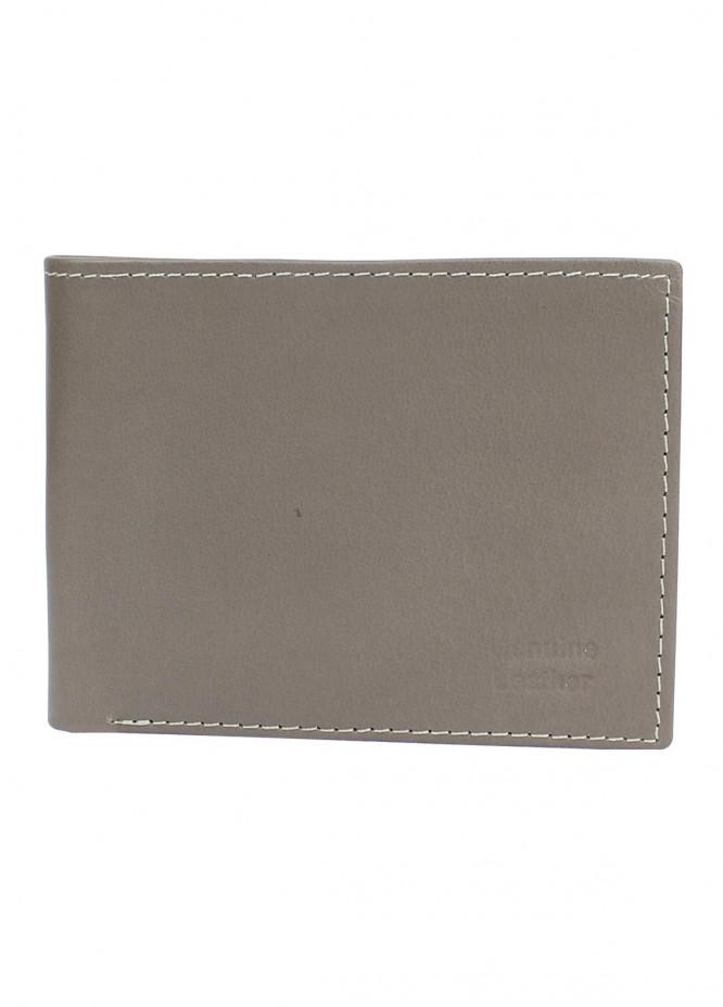 Shahzeb Saeed Plain Texture Leather  Wallet W-069 - Men's Accessories