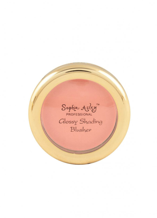 Sophia Asley Glossy Shading Blusher - 12   Sheer Berry