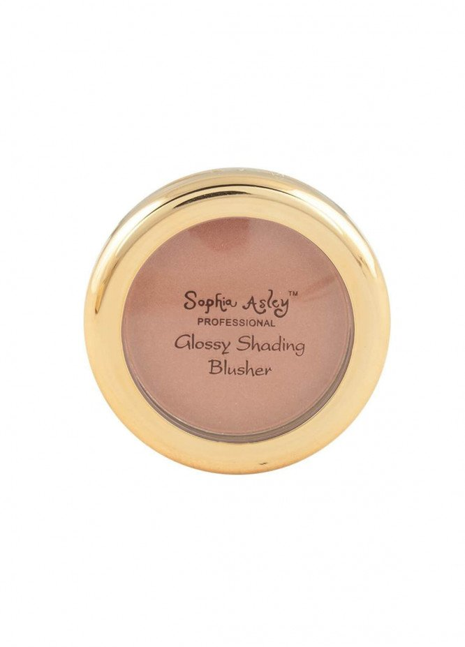 Sophia Asley Glossy Shading Blusher - 8   Tender Love