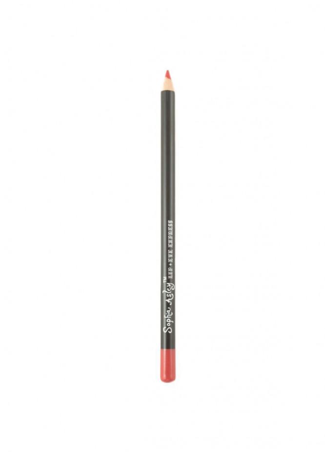 Sophia Asley Lip , Eye Express Pencil Professional Formula - 24   Sexy Red