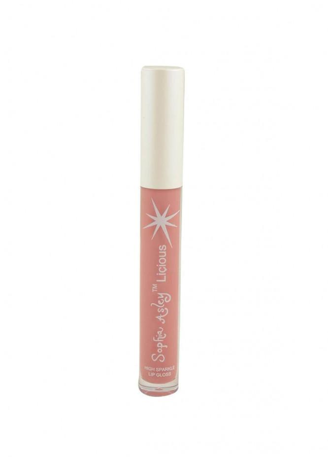 Sophia Asley Licious High Sparkle Lip Gloss - Mauve