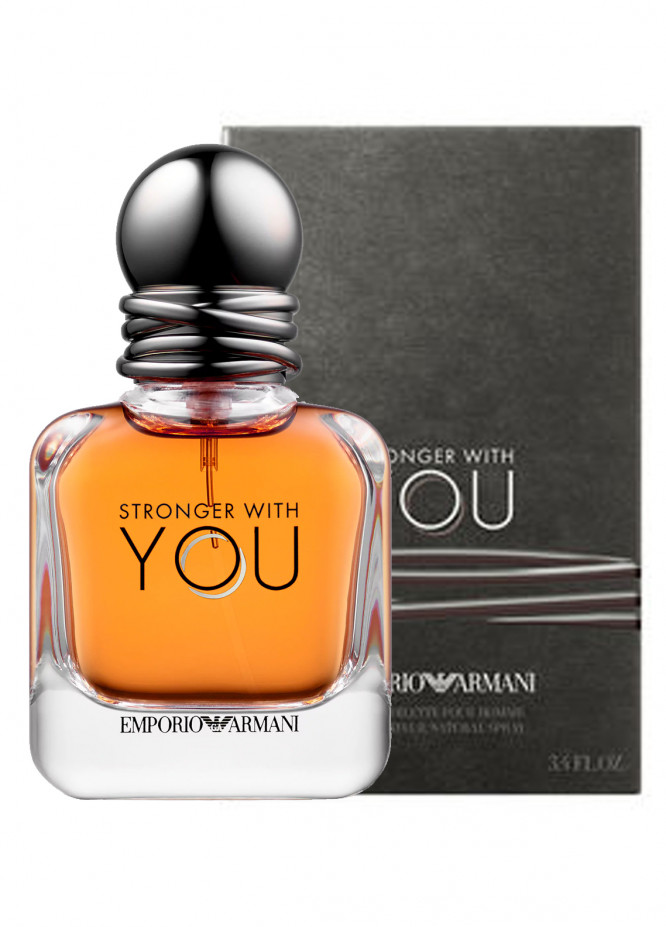 Armani Stronger With YOU men's perfume EDT