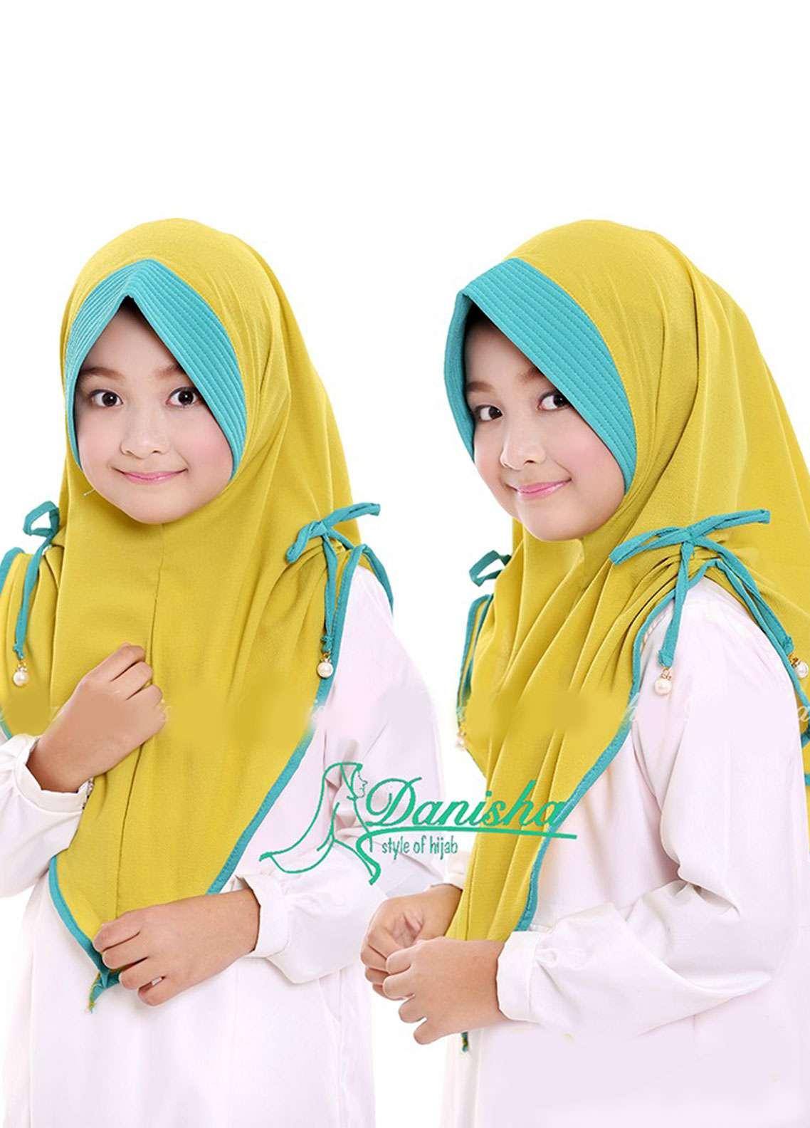Danisha | Style of Hijab  Bubble Pop  Girls Scarves HH Danisha 02 Lime