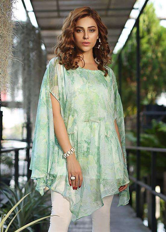 Edenrobe Embroidered Cotton Stitched Kurtis ELTKP19-66662